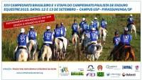 XXV CAMPEONATO BRASILEIRO DE ENDURO EQUESTRE