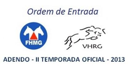 Ordem de Entrada VHRG