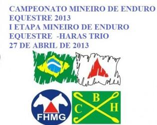 CAMPEONATO MINEIRO DE ENDURO EQUESTRE 2013