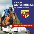Confira o Programa da V Etapa da Copa Minas - SHMG
