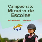 CONFIRA O PROGRAMA DO CAMPEONATO MINEIRO DE AMAZONAS E ESCOLAS DE EQUITAÇÃO
