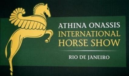Confira a lista dos cavaleiros que irão disputar o Oi Athina Onassis Horse Show