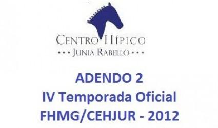 ADENDO 2 - IV - TEMPORADA