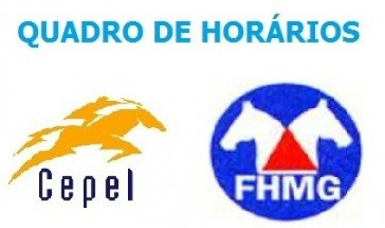 QUADRO DE HORÁRIOS