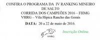 IV RANKING MINEIRO DE SALTO
