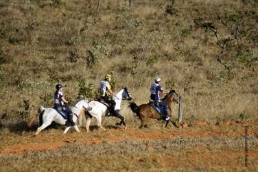 Os campeões Brasileiro de Enduro Equestre 2013 na Fazenda Olhos D´Água