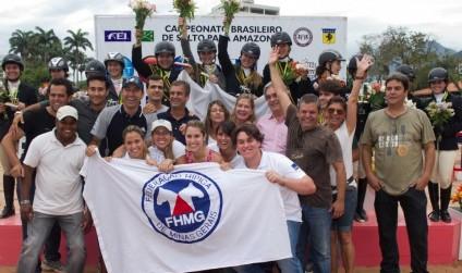 CAMPEONATO MINEIRO DE SALTO DE AMAZONAS, AMADOR, CAVALOS NOVOS E ESCOLAS DE EQUITAÇÃO ACONTECE DE 22 A 24 DE JUNHO, NO CHEVALS