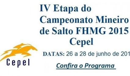 IV ETAPA OFICIAL DA FHMG