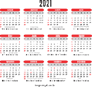 Confira o Calendário FHMG - 2021