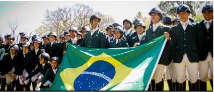 Brasil no Americano e Sul Americano da Juventude