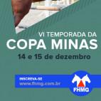 Clique Aqui para realizar a inscrição VI Copa Minas 2019 - Final